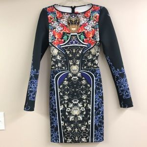 Clover Canyon long sleeved dress small